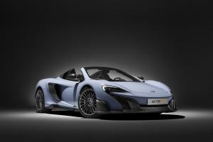 McLaren reveal one-off carbon fibre P1 and 675LT
